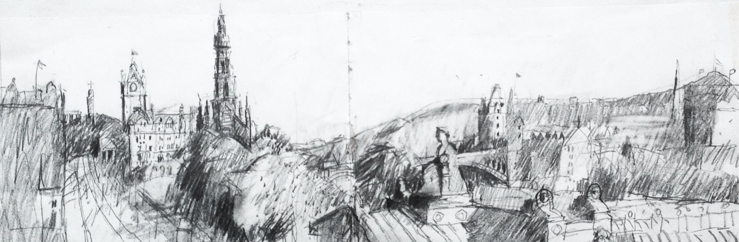 'Sketchbook Drawings' by John Brown