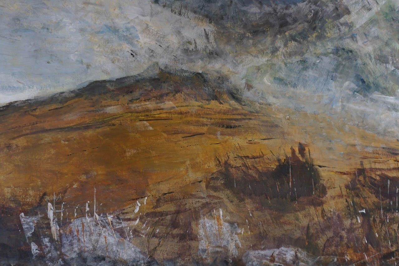 Broadlaw Hill, Acrylic, 38cm x 58cm, £175